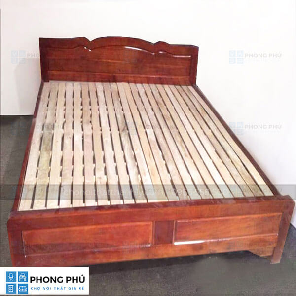 Kinh nghiệm mua giường gỗ keo giá rẻ chất lượng tốt - 1