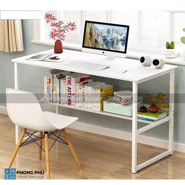Sở hữu mẫu bàn làm việc đơn giản với thiết kế hiện đại
