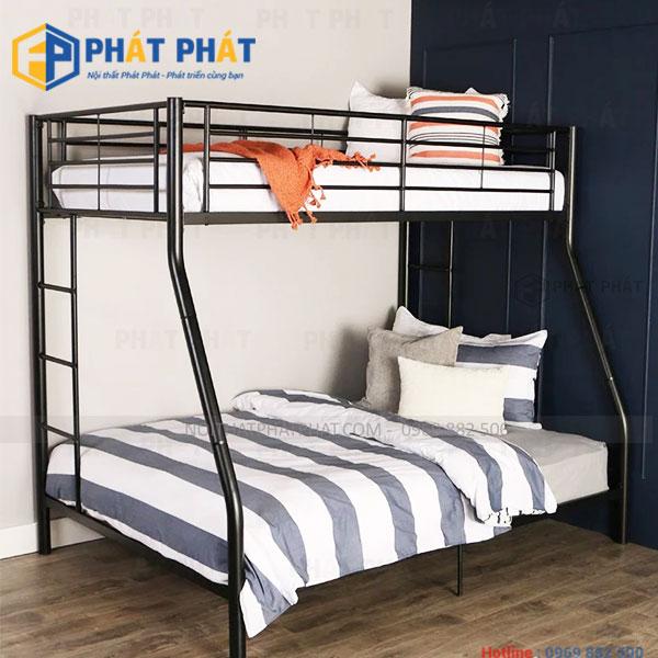 Vì sao nên chọn mua mẫu giường tầng sắt ? | Những mẫu giường sắt giá rẻ - 1