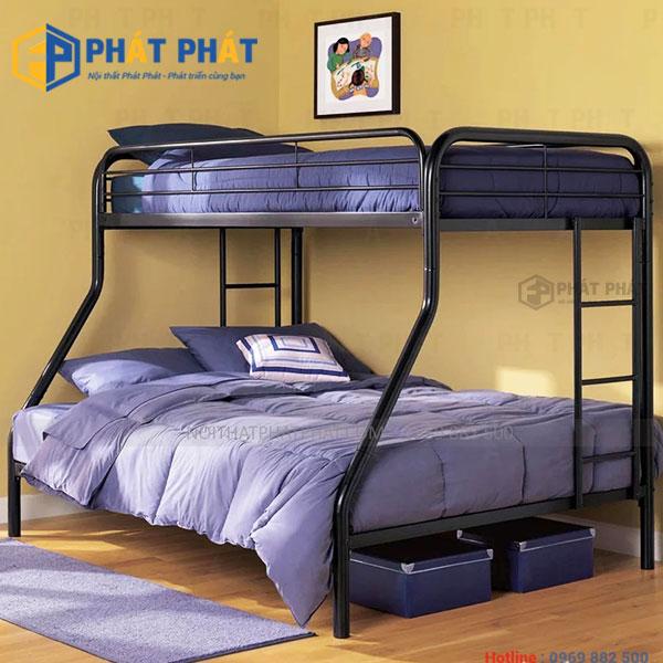 Vì sao nên chọn mua mẫu giường tầng sắt ? | Những mẫu giường sắt giá rẻ - 2